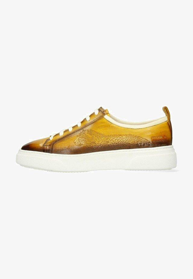 HARVEY VEGAS PERFO OXYGEN SHADE - Sneakers laag - yellow