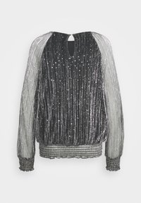 Wallis - MOONLIGHT BLOUSON - Blouse - silver - 1