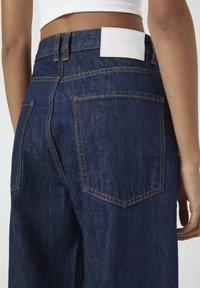PULL&BEAR - Jeansy Straight Leg - dark blue - 3