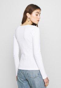 Even&Odd - Bluzka z długim rękawem - white - 2