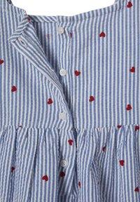Vertbaudet - Day dress - blau gestreift - 2