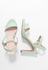 Mariamare - Sandály na vysokém podpatku - mint - 3