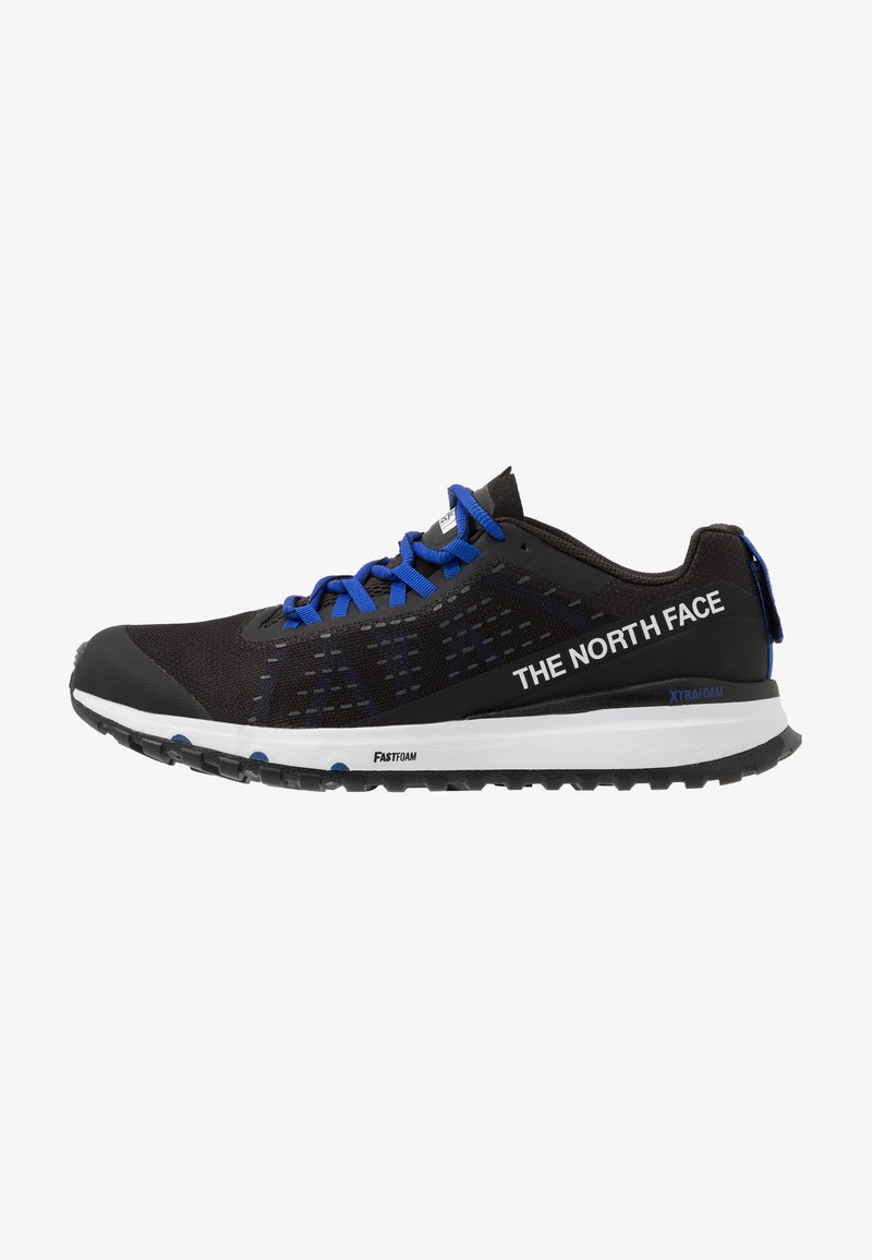 The North Face - MEN'S ULTRA SWIFT - Trail running shoes - black/blue