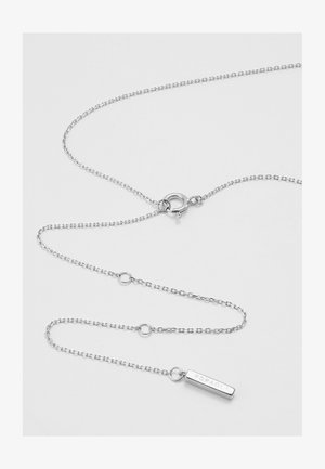 LETTER NECKLACE - Collana - silver