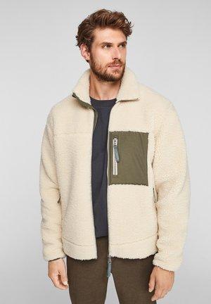 Fleece jacket - offwhite