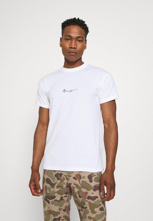 ESSENTIAL REGULAR BASIC TEE - T-shirt basic - white