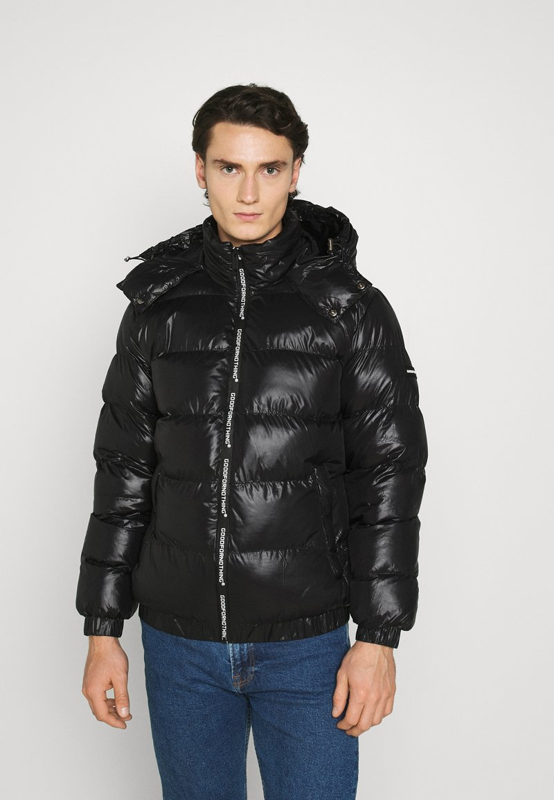 Good For Nothing - HADLOW SHINE PUFFER - Winter jacket - black