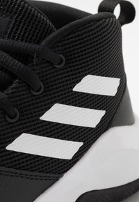 adidas Performance - OWNTHEGAME WIDE - Sports shoes - core black/footwear white - 2