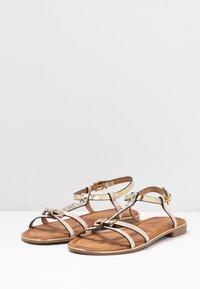 Anna Field - T-bar sandals - gold - 4