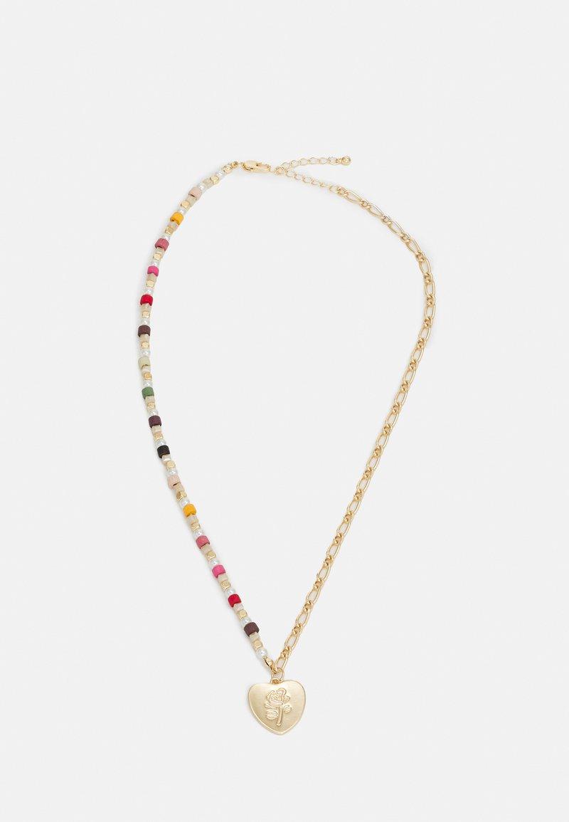Pieces - PCMATATA NECKLACE  - Necklace - gold