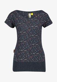 alife & kickin - Print T-shirt - marine - 5