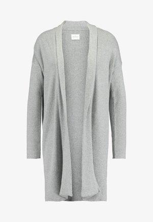 ELISE CARDIGAN - Neuletakki - mottled light grey