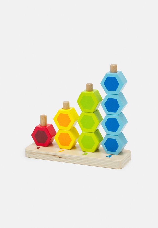 ZÄHL-UND STECKSPIEL UNISEX - Leksaker - multicolor