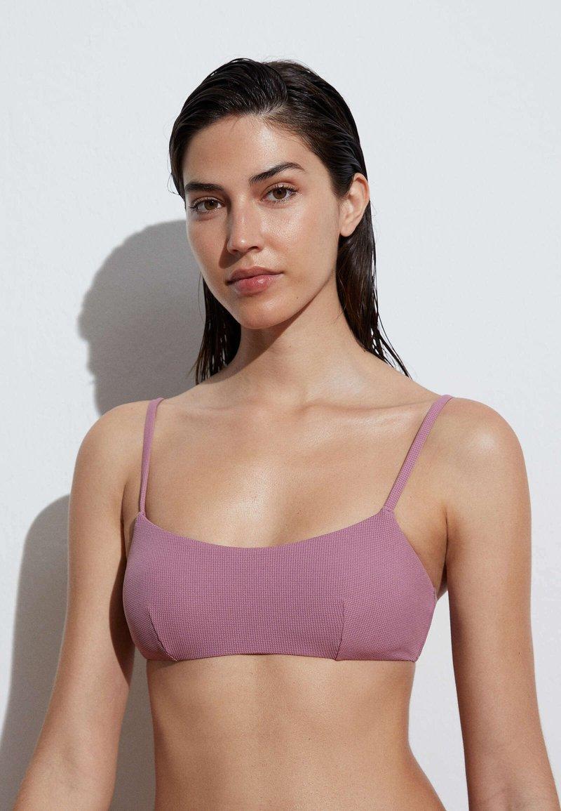 OYSHO - Bikini top - mauve