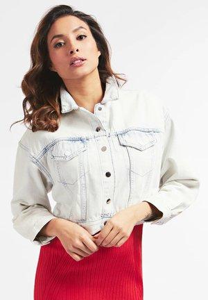 PRINT - Denim jacket - himmelblau