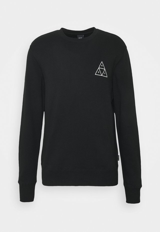 ESSENTIALS CREW - Sweatshirt - black