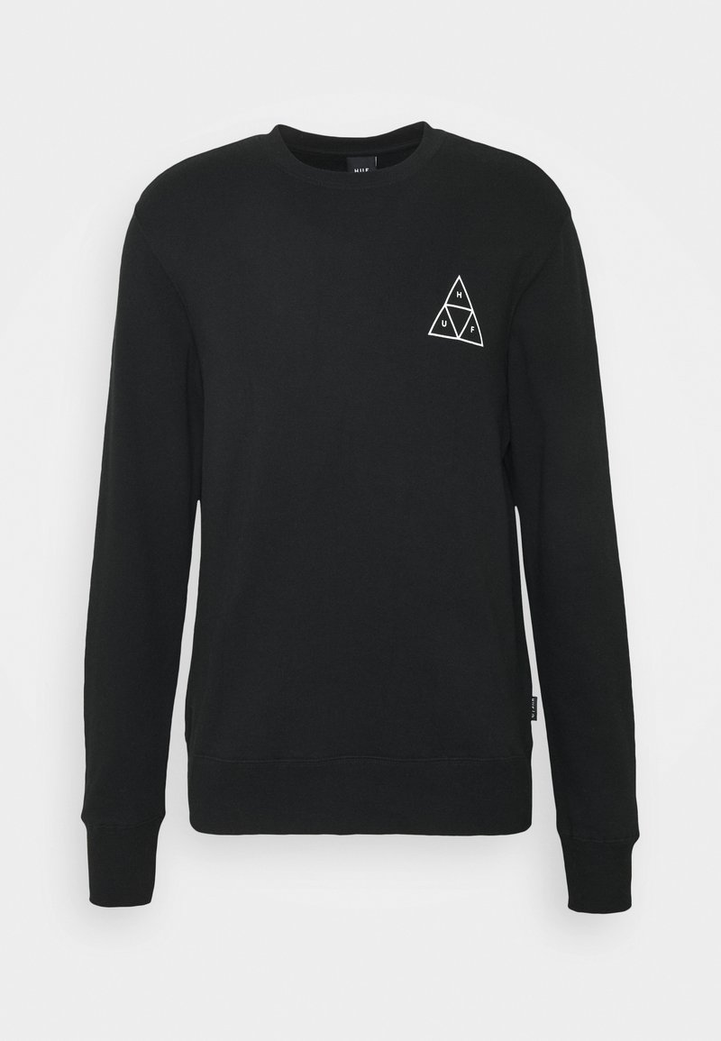 HUF ESSENTIALS CREW - Sweatshirt - mint bJy0b5