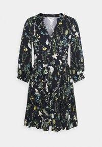 OBJALBA DRESS REPEAT - Day dress - sky captain/multi colour
