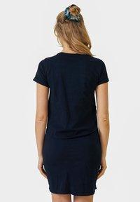 Vertbaudet - Jersey dress - blue - 2