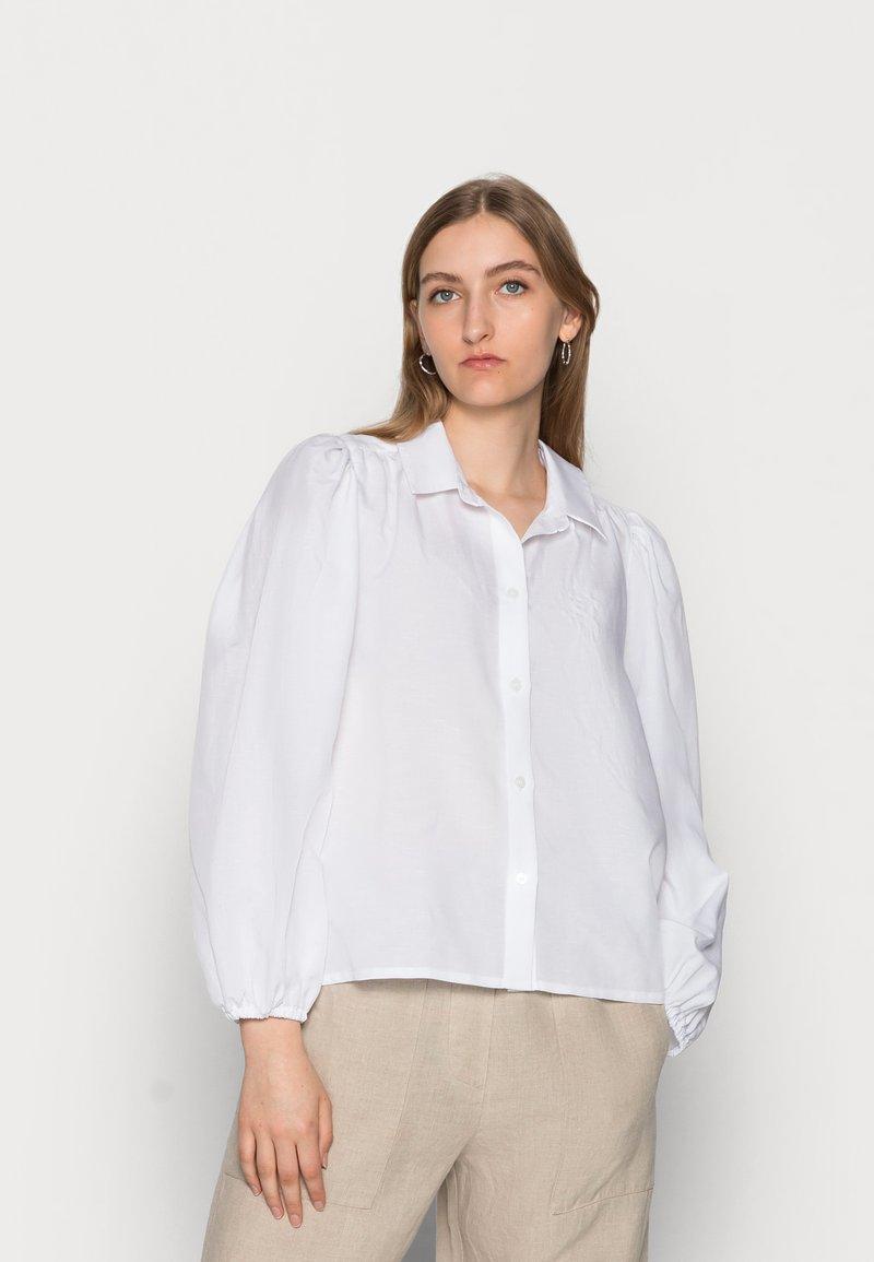 Samsøe Samsøe - MEJSA SHIRT - Košile - bright white
