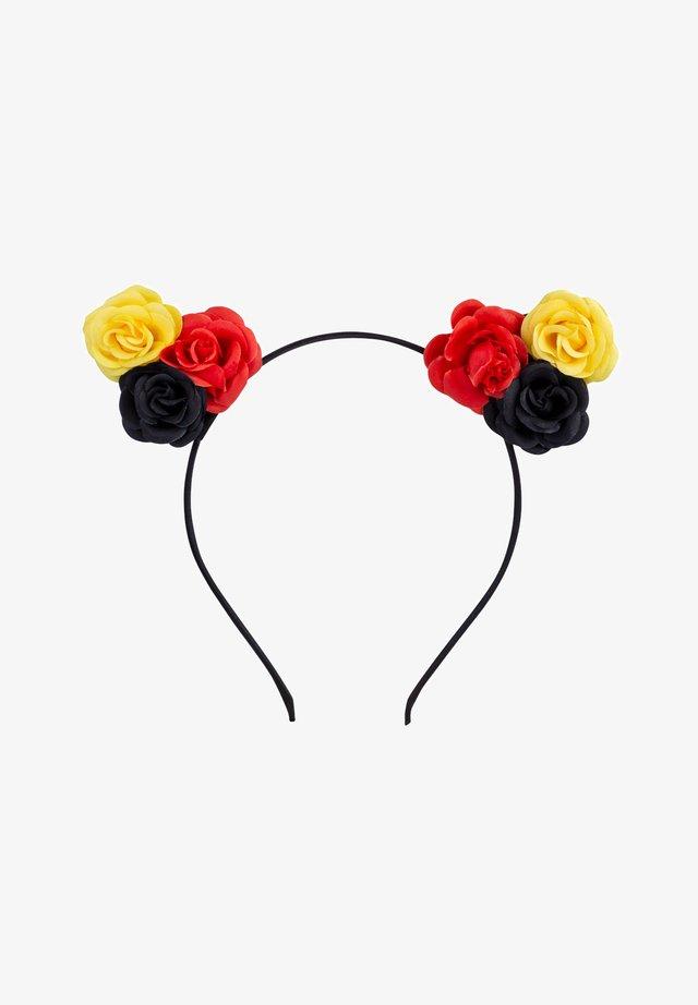 BLÜTEN FUSSBALL EM FAN - Hair styling accessory - schwarz