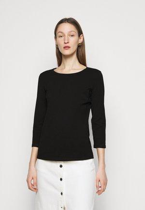 MULTIA - Maglietta a manica lunga - schwarz