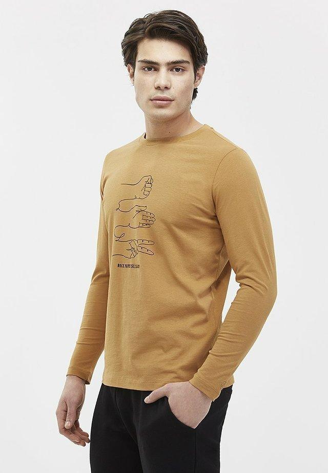 ROCK PAPER SCISSORS - T-shirt à manches longues - meerkat