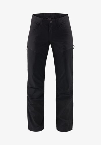 MID FLEX PANT - Outdoor trousers - true black solid
