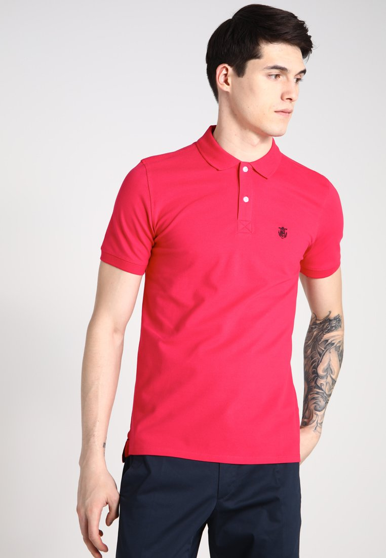 Selected Homme - SLHARO EMBROIDERY - Polotričko - rose red