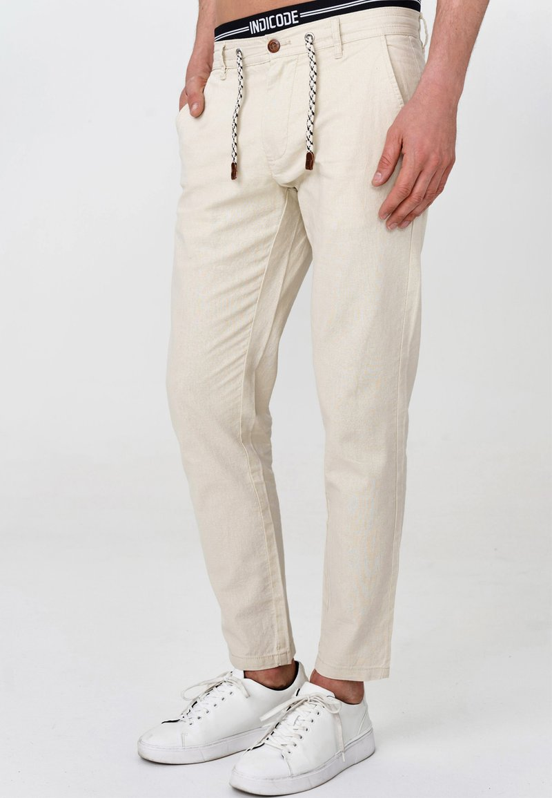 INDICODE JEANS - BOULWARE - Trousers - fog