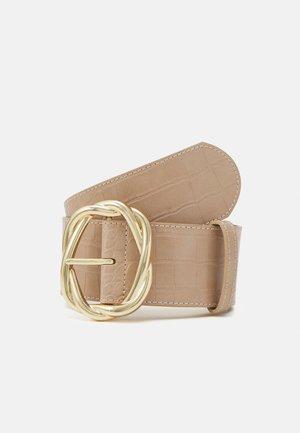 PCMOCRO WAIST BELT - Waist belt - warm sand/gold-coloured