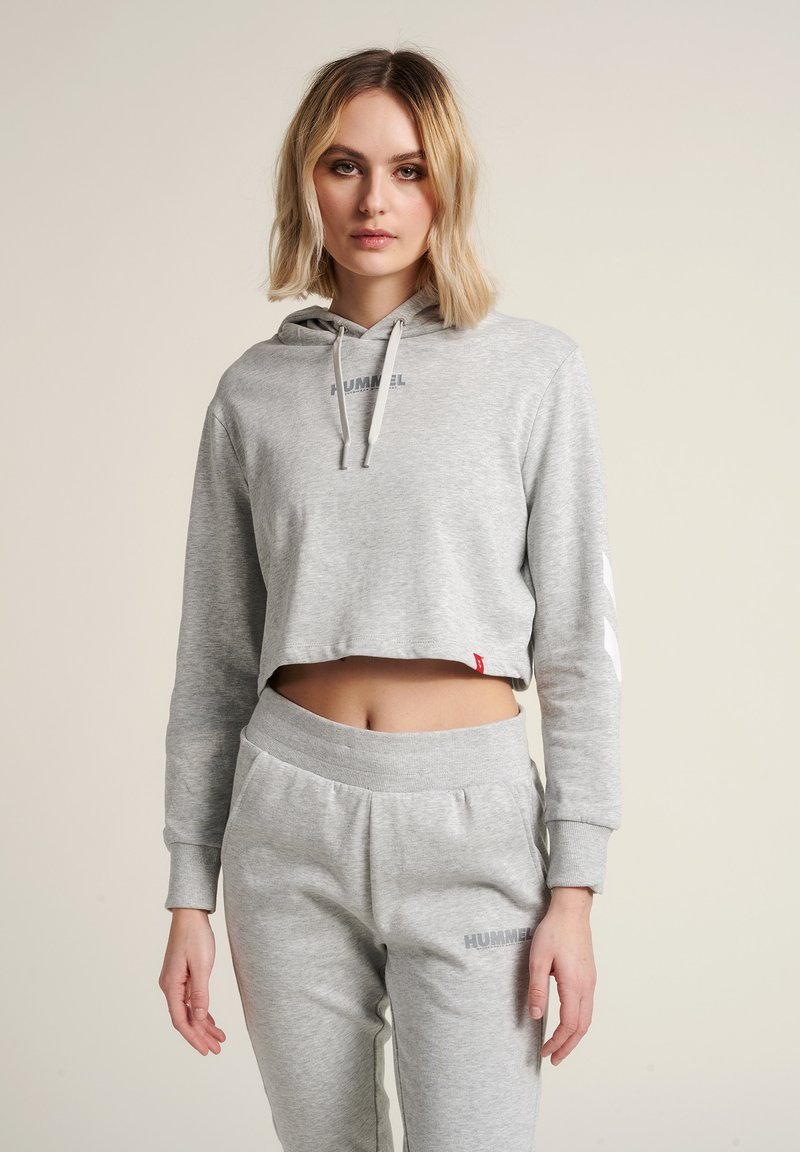 Hummel - Hættetrøjer - grey melange