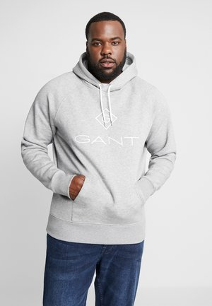 LOCK UP - Hoodie - grey melange