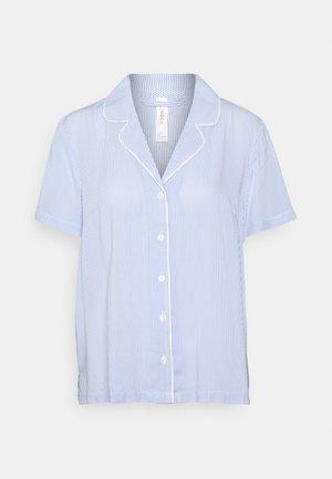 NIGHT SHIRT FIA WOVEN - Pyjamasoverdel - blue