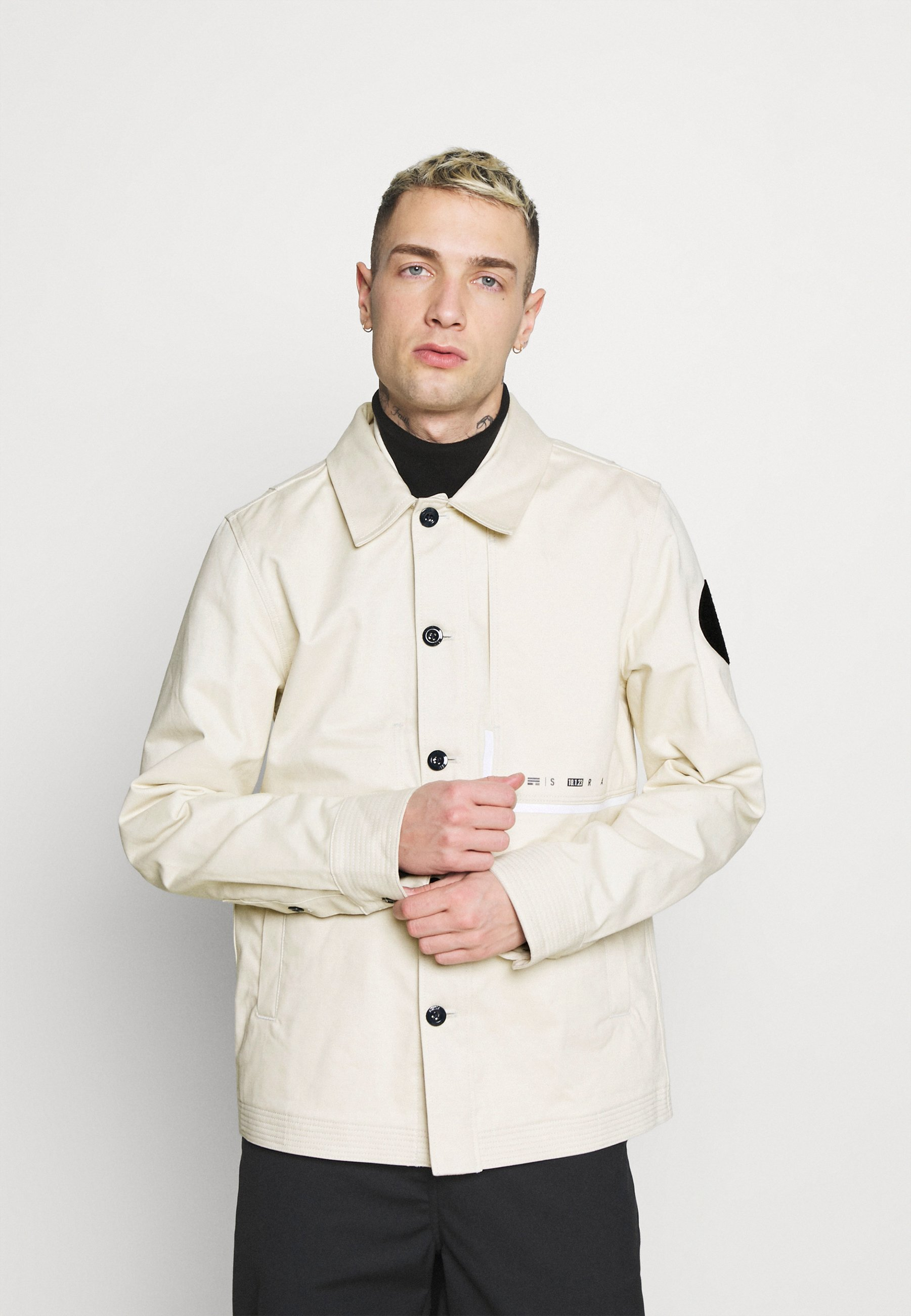 Men NAVAL OVERSHIRT - Summer jacket