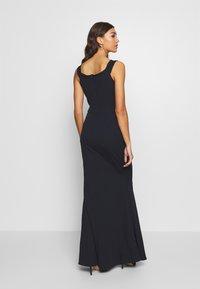 WAL G. - BARDOT MAXI DRESS - Vestido de fiesta - navy blue - 0