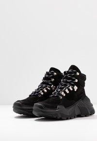 GARMENT PROJECT - Baskets montantes - black - 4