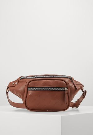SHOULDER BAG - Bum bag - brown