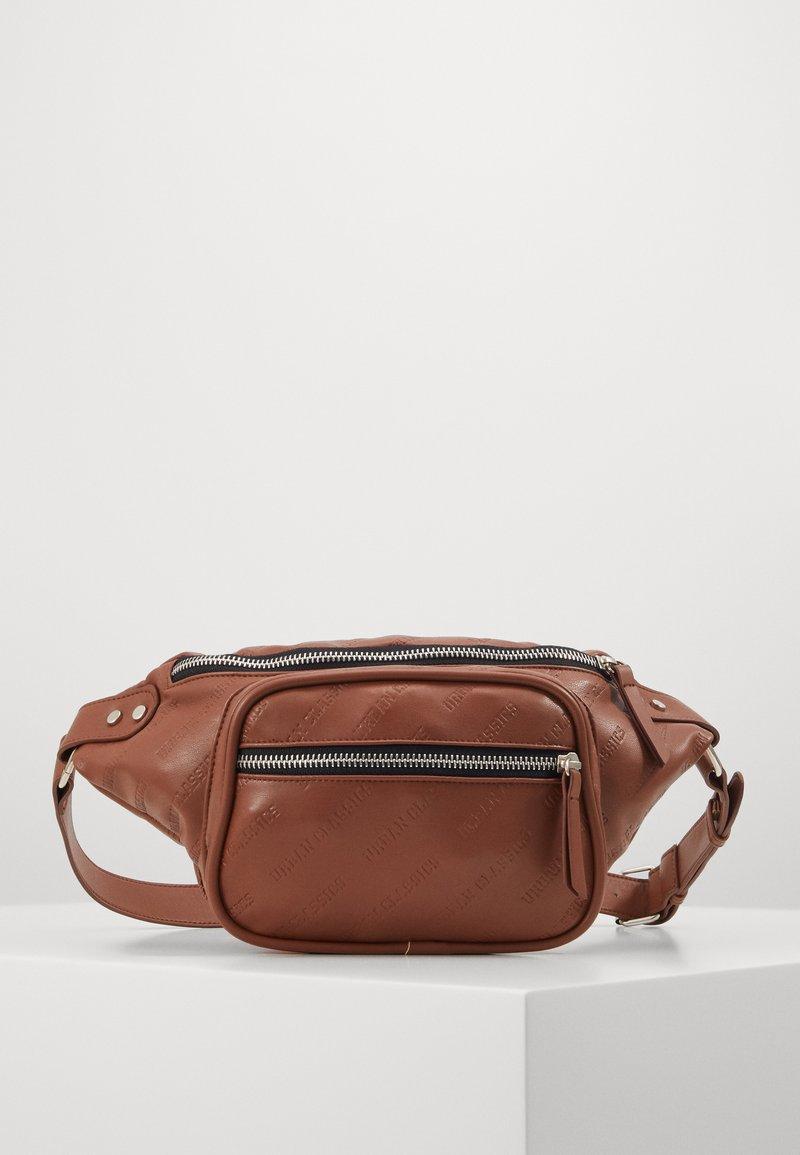 Urban Classics - SHOULDER BAG - Bum bag - brown