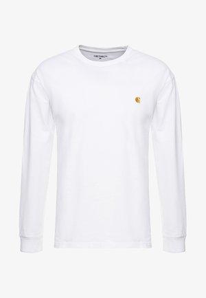 CHASE - Pitkähihainen paita - white