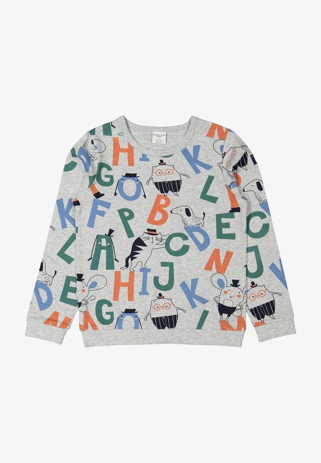 Sweatshirt - greymelange