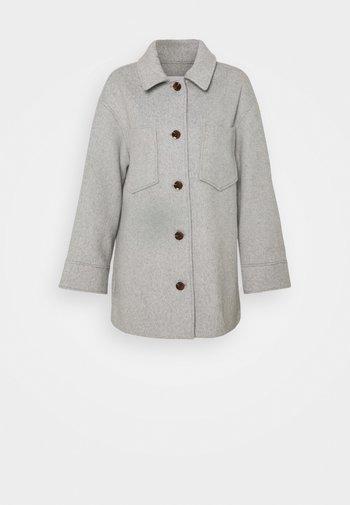 DIONE - Short coat - grey melange