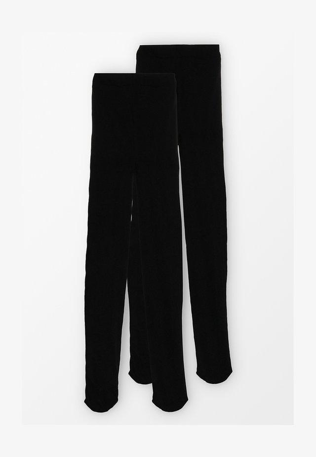60 DENIER 2 PACK - Sukkahousut - black