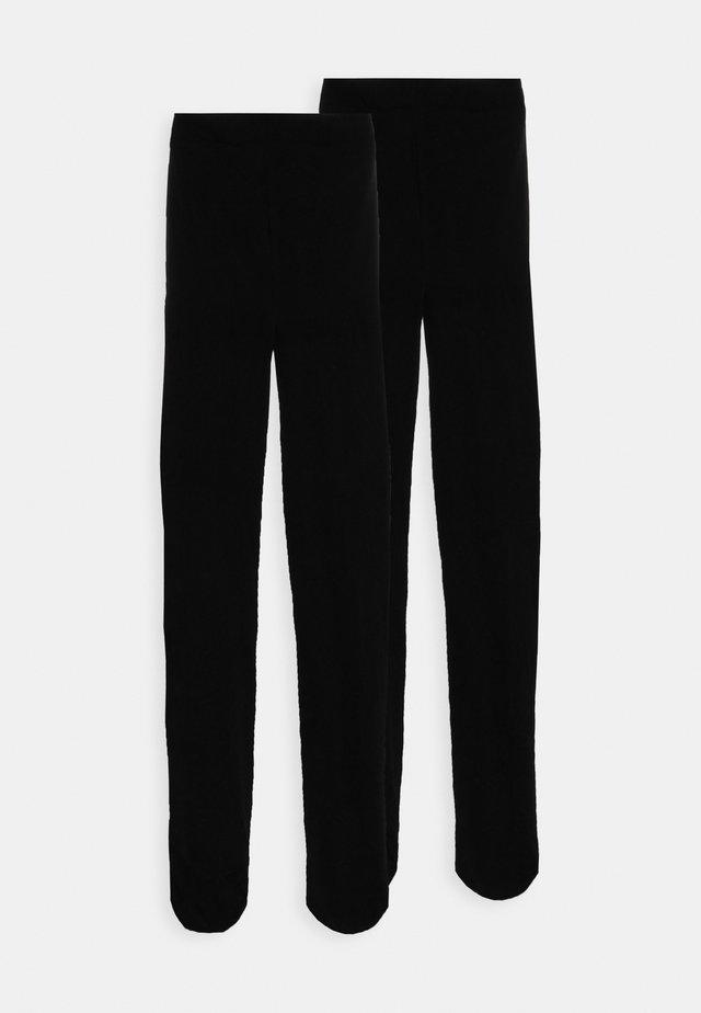60 DENIER 2 PACK - Strumpfhose - black