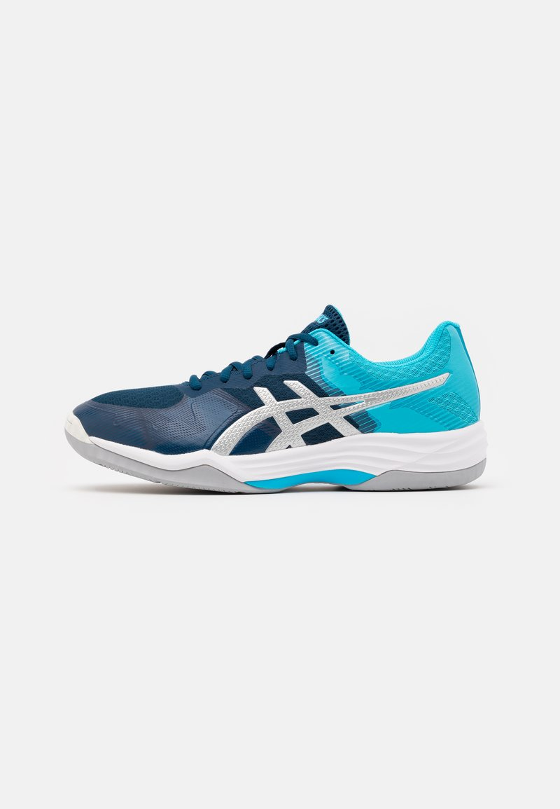 ASICS - GEL TACTIC  - Volleybalschoenen - mako blue/pure silver