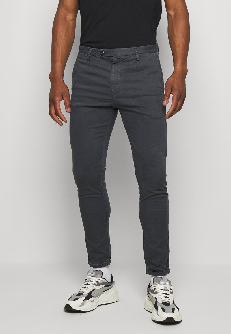 Replay - Trousers - charcoal