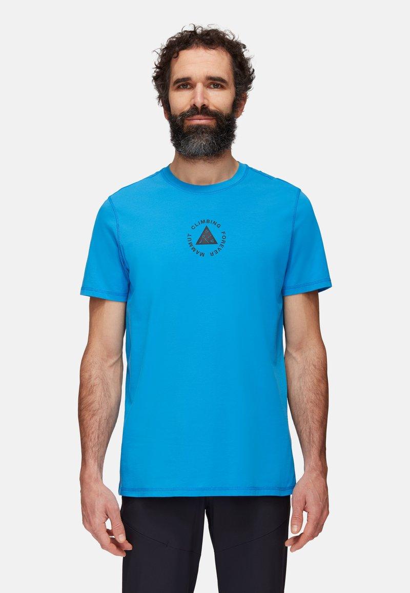 Mammut - MASSONE MEN - T-shirt z nadrukiem - gentian prt