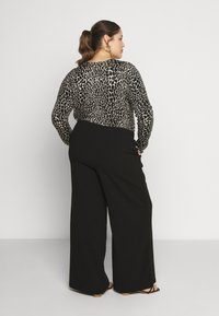 Dr.Denim Plus - BELL TROUSERS - Kalhoty - black - 2