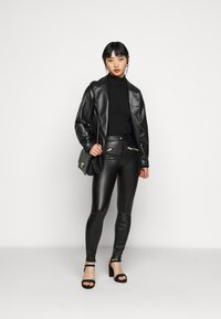 ONLY Petite - ONLHENRIETTA - Trousers - black - 1