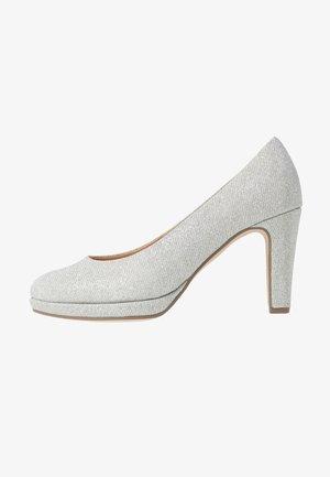 Zapatos altos - silber